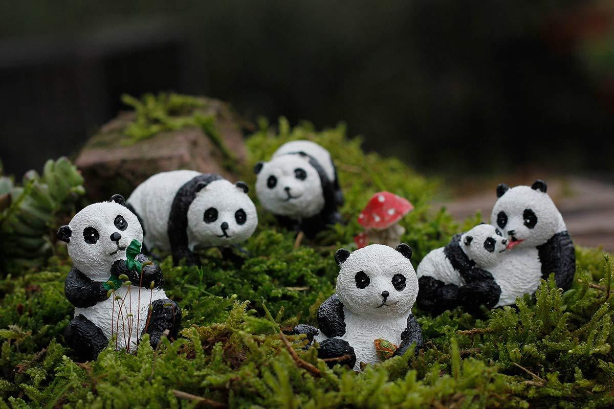 mini zen garden accessories pandas