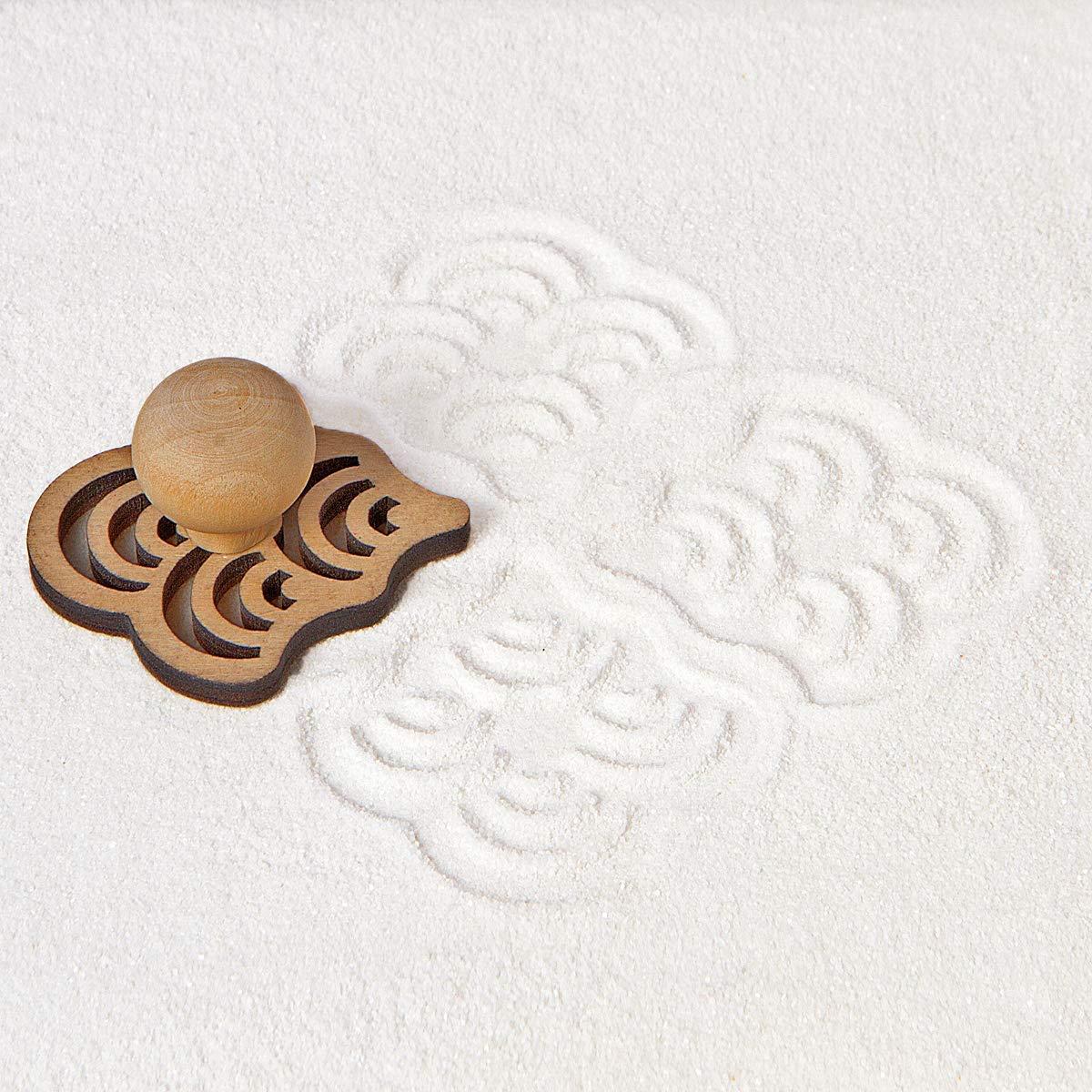 DIY mini zen garden stamps accessories