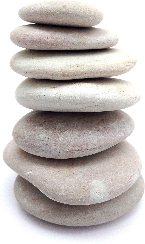 mini zen garden balancing stones