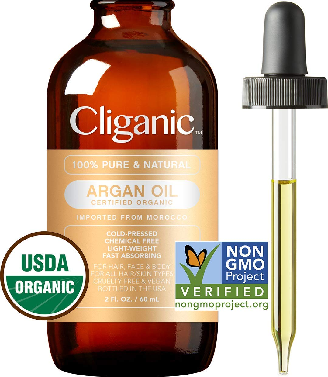 cliganic argan oil review
