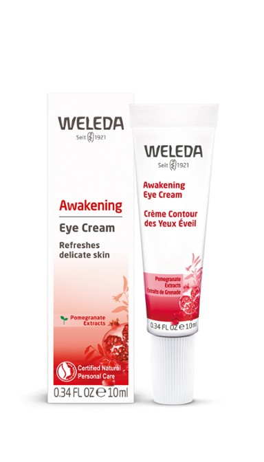 best natural eye cream review weleda