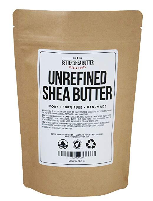 best shea butter for skin hair