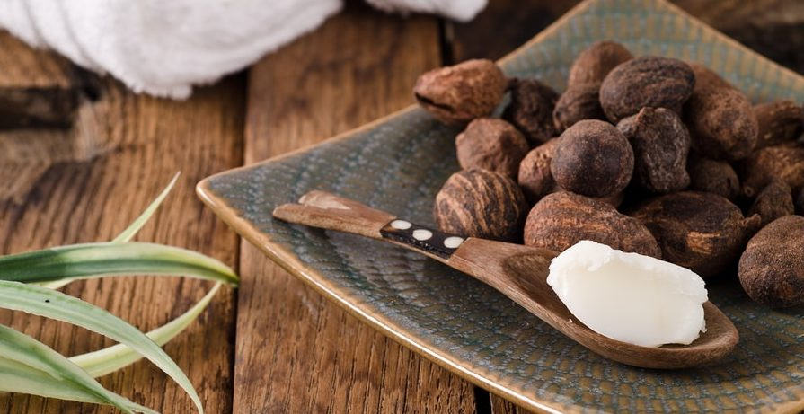 shea butter for hair and face